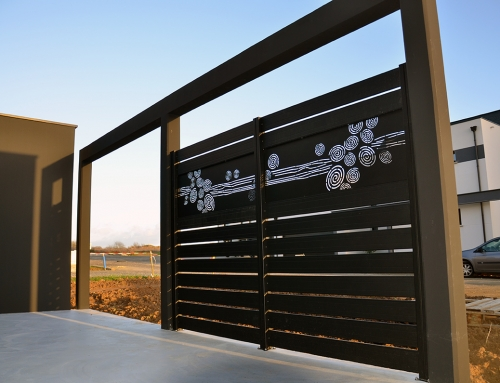 claustra sur muret d cor racine clotalys claustras. Black Bedroom Furniture Sets. Home Design Ideas
