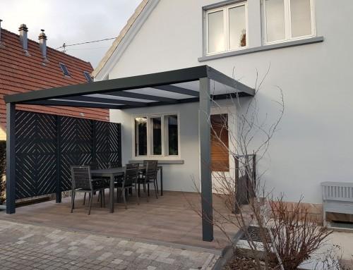 mixte lames aluminium panneaux amandier clotalys claustras fermetures design aluminium. Black Bedroom Furniture Sets. Home Design Ideas